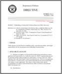 DoD Directive 5230.25 Aug1995